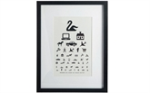 Eye Chart billed House doctor